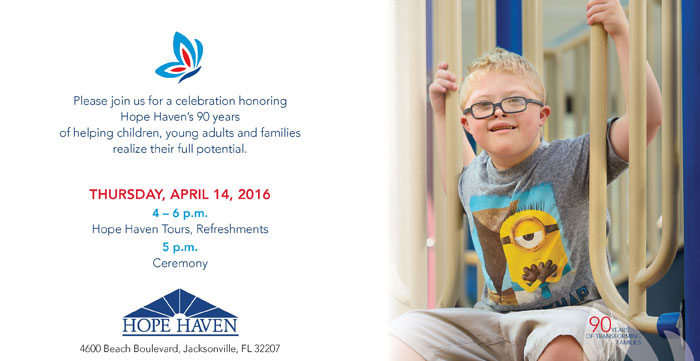 Hope Haven Anniversary - RLS Group public relations agency