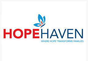 RLS Group advertising agency - logo design for Hope Haven hospital