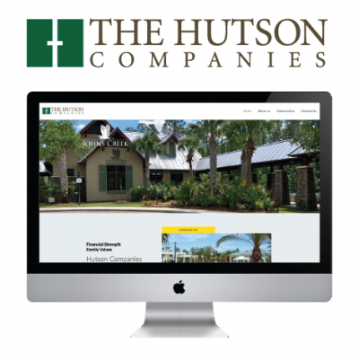 The Hutson Companies - branding and website design by RLS Group advertising and marketing company in Jacksonville Florida