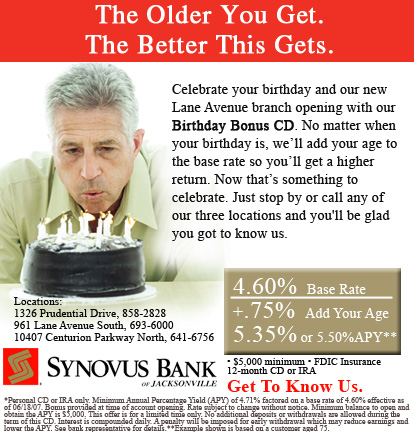 Synovus Bank advertising campaign - RLS group full-service ad agency