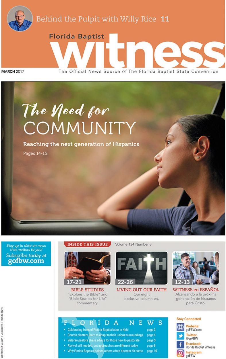 Florida Baptist Witness Publication